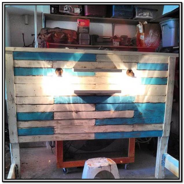 Diy King Size Bed Frame Pallets
