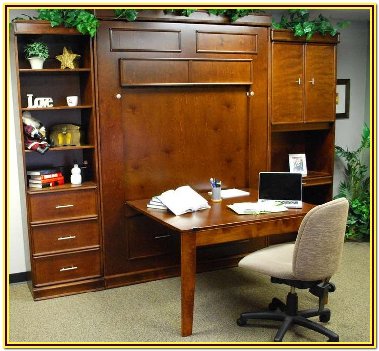 Diy Murphy Bed With Desk Kit