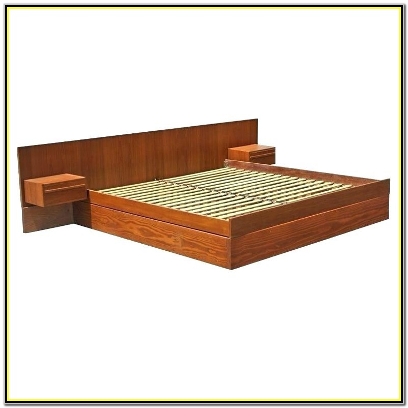 Easy King Size Platform Bed Plans