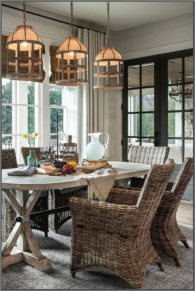 Farm Style Dining Room Light