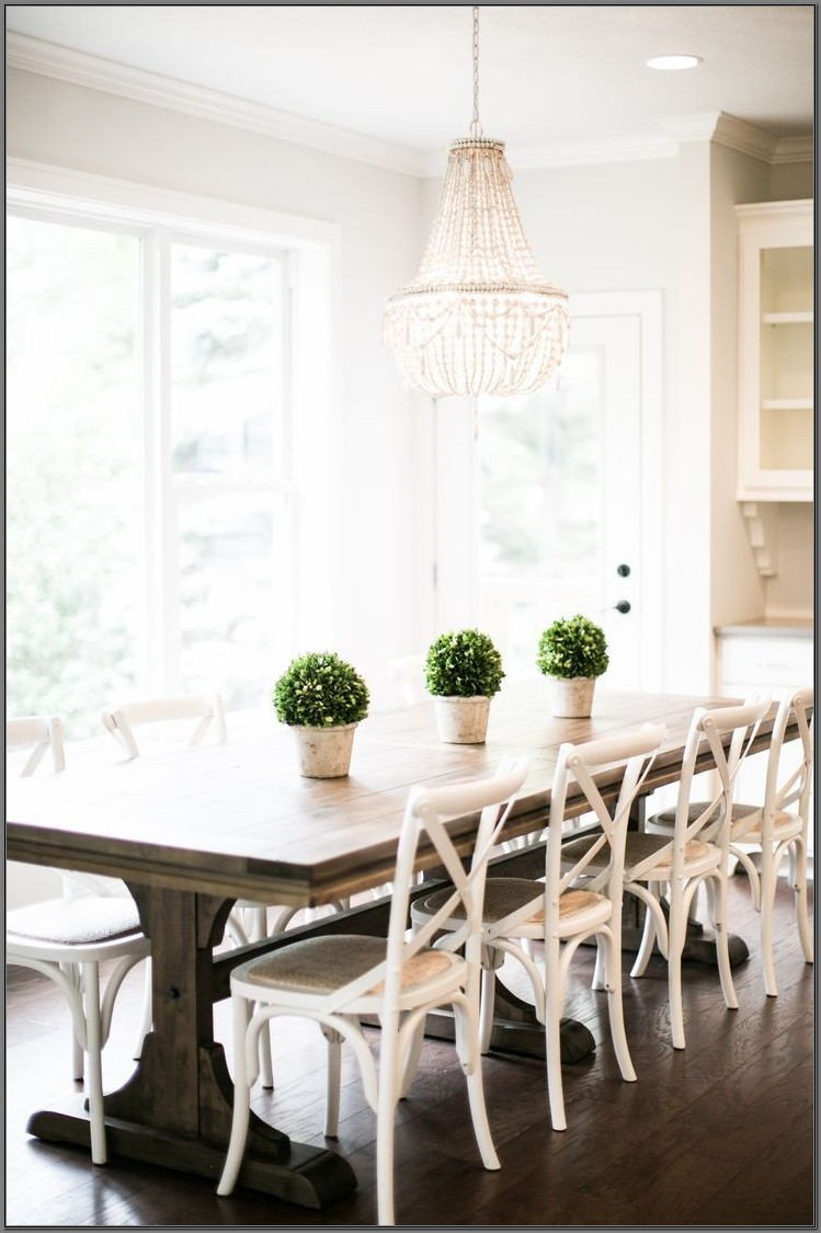 Farmhouse Dining Room Ideas Pinterest