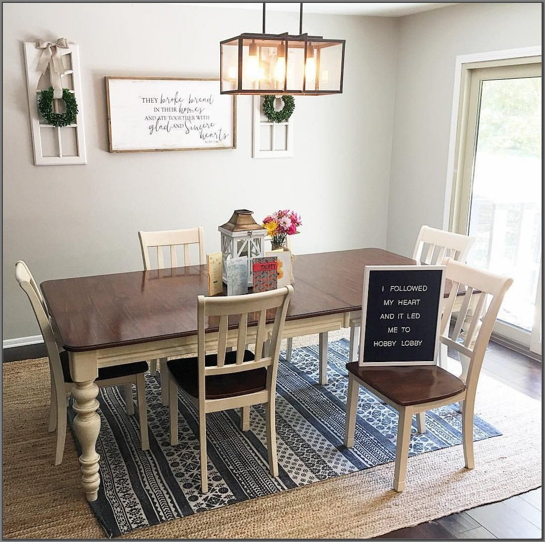 Farmhouse Style Dining Room Rugs