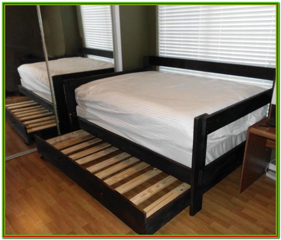 Full Size Under Bed Trundle Frame