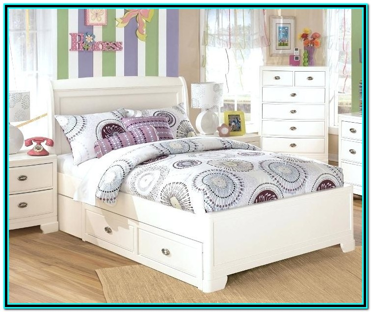 Garry Full Mate's & Captain's Bed With Drawers And Trundle