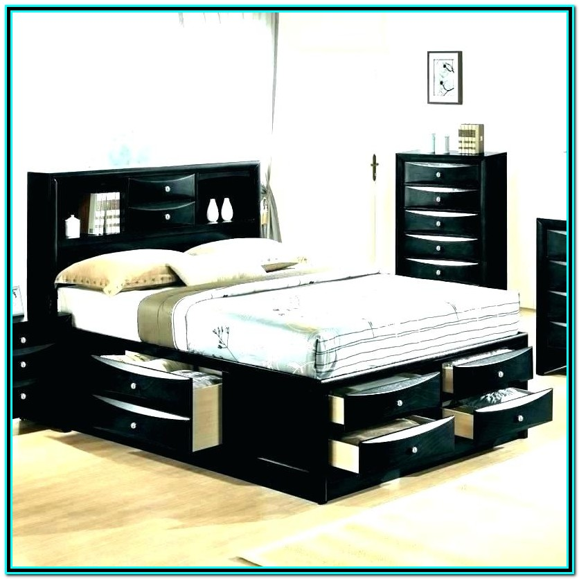 Garry Full Mate's & Captain's Bed With Drawers