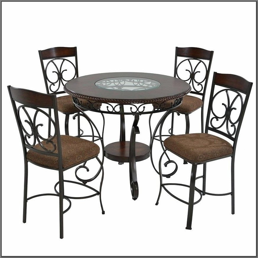 Glambrey Counter Height 5 Piece Dining Room