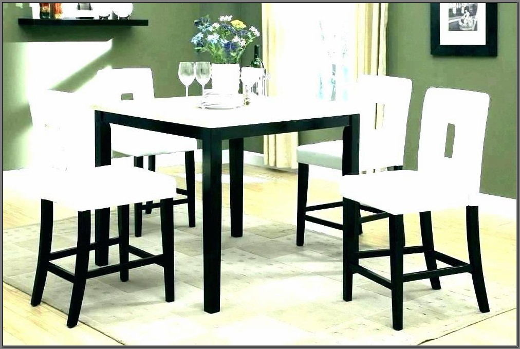 High Dining Room Table Set