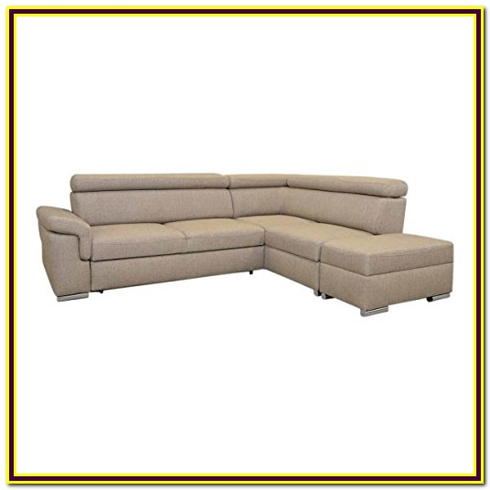 Homelegance Platina 103 Sectional Sofa With Pull Out Bed And Ottoman