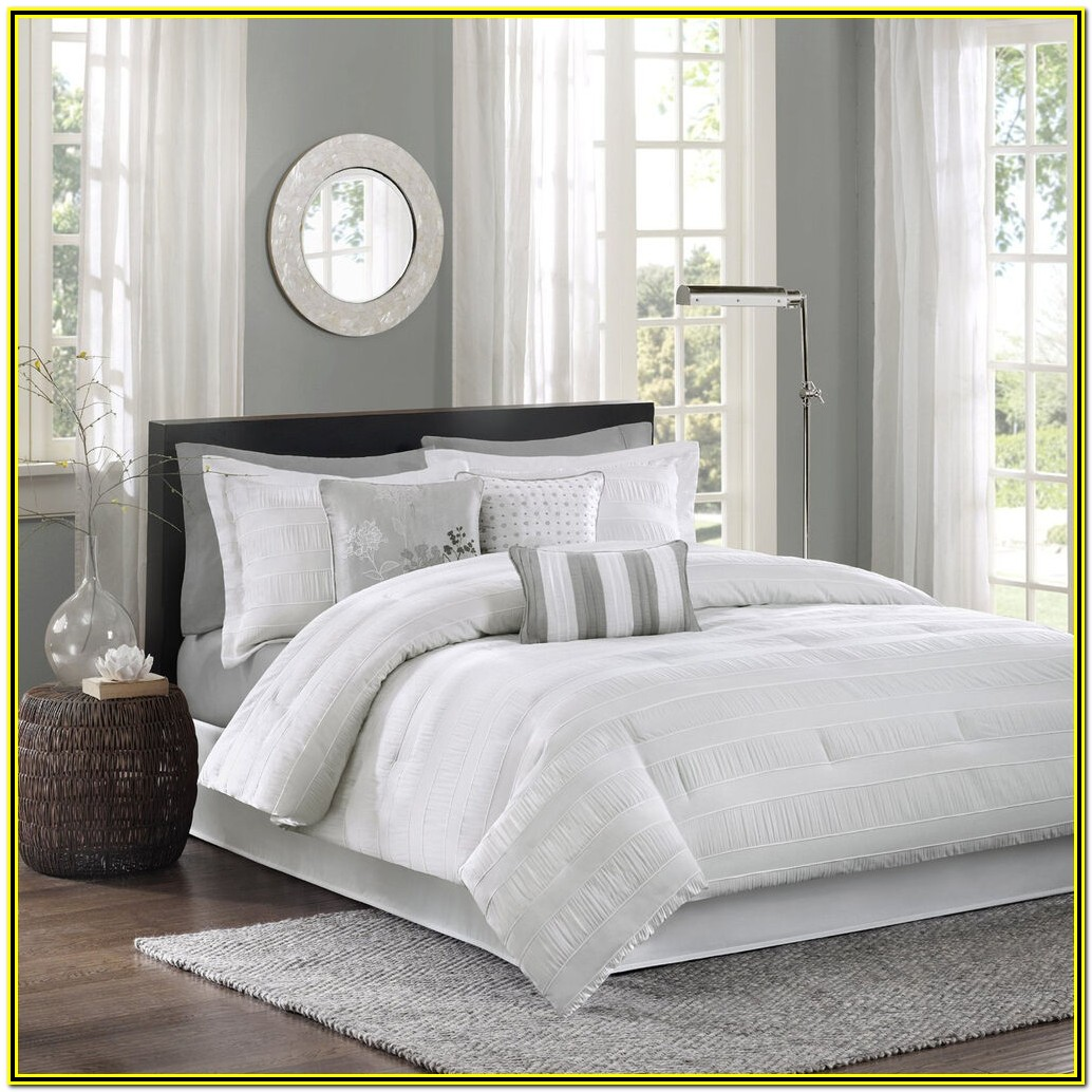 Hotel Collection White Comforter Set