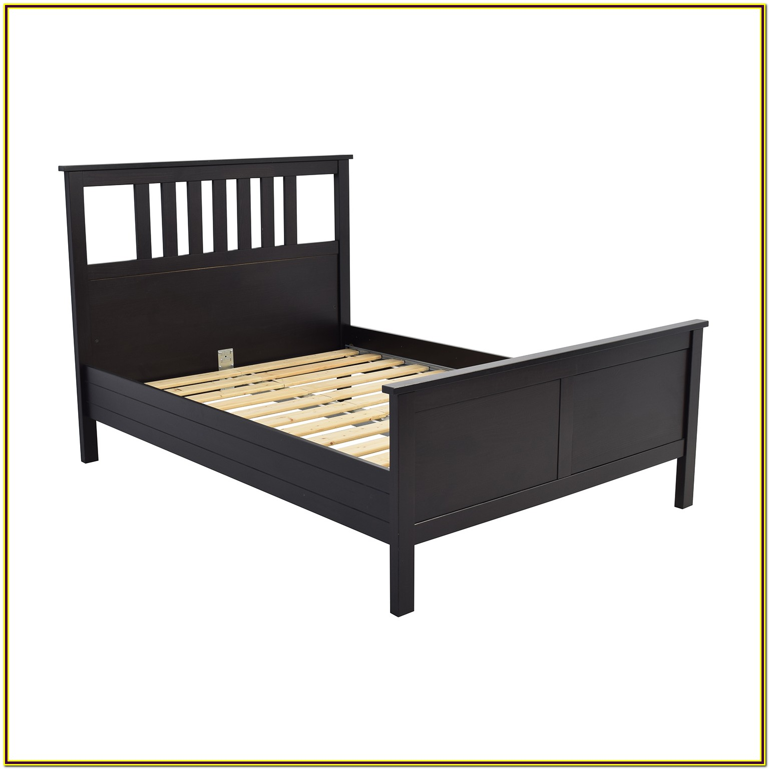 Ikea Queen Bed Wooden Frame