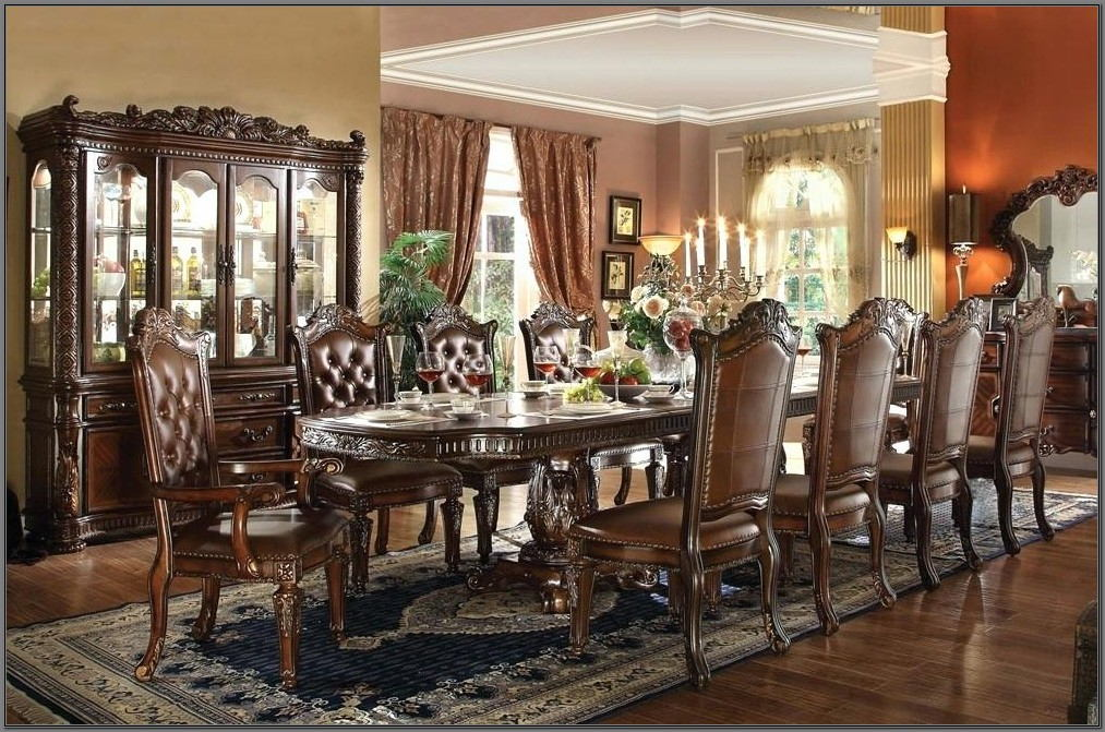 Italian Formal Dining Room Sets