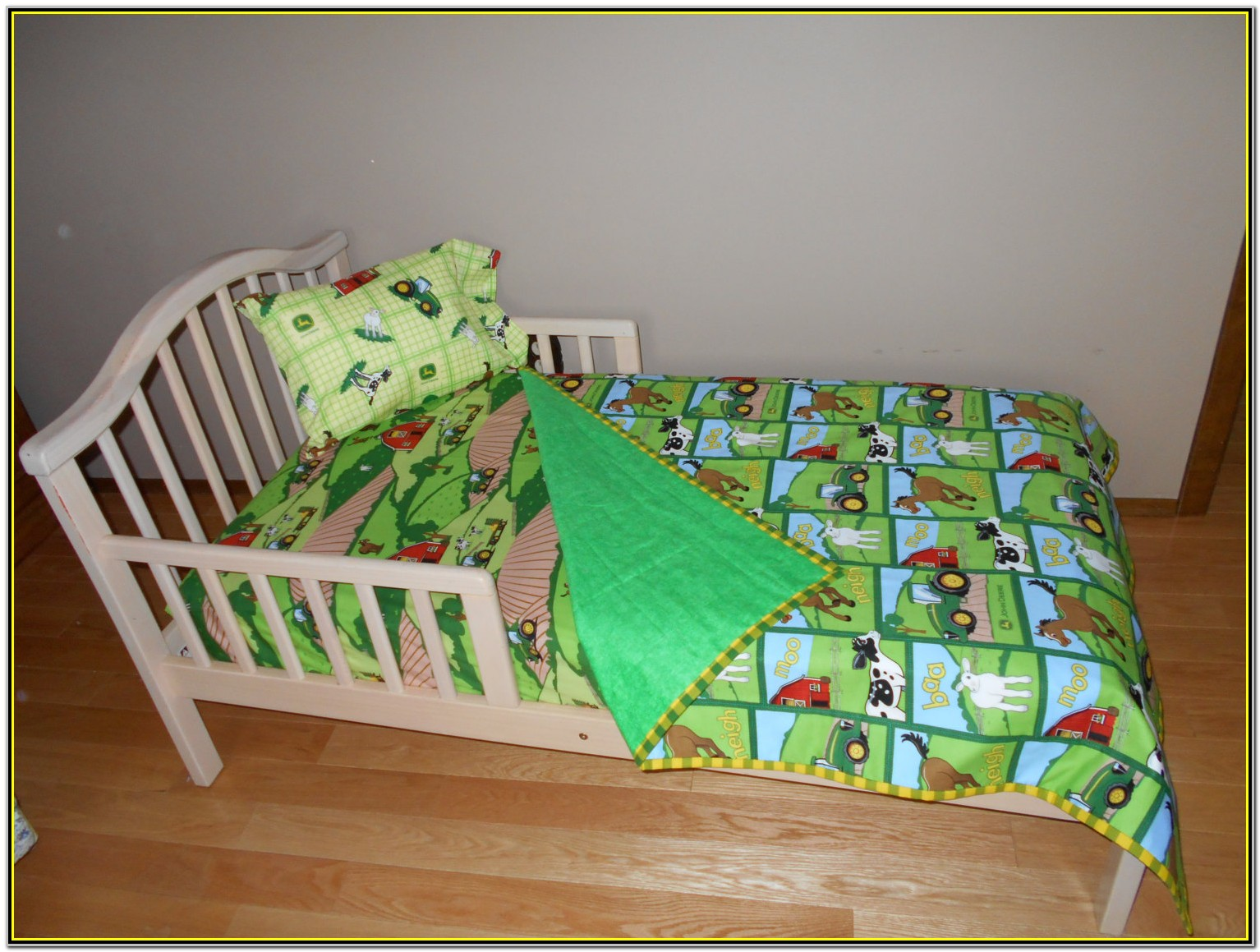 John Deere Crib Bedding Down On The Farm