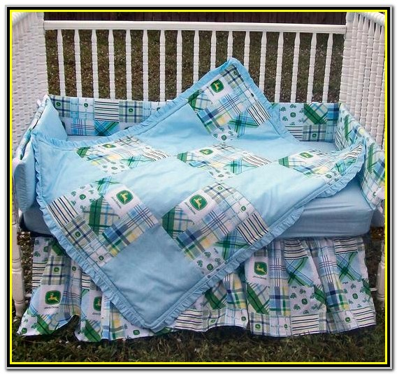 John Deere Crib Bedding Set