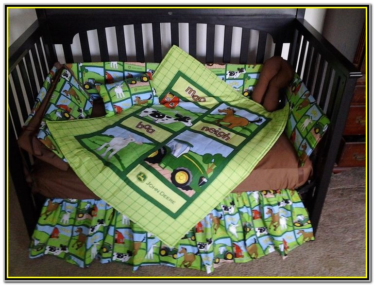 John Deere Crib Set 4 Piece