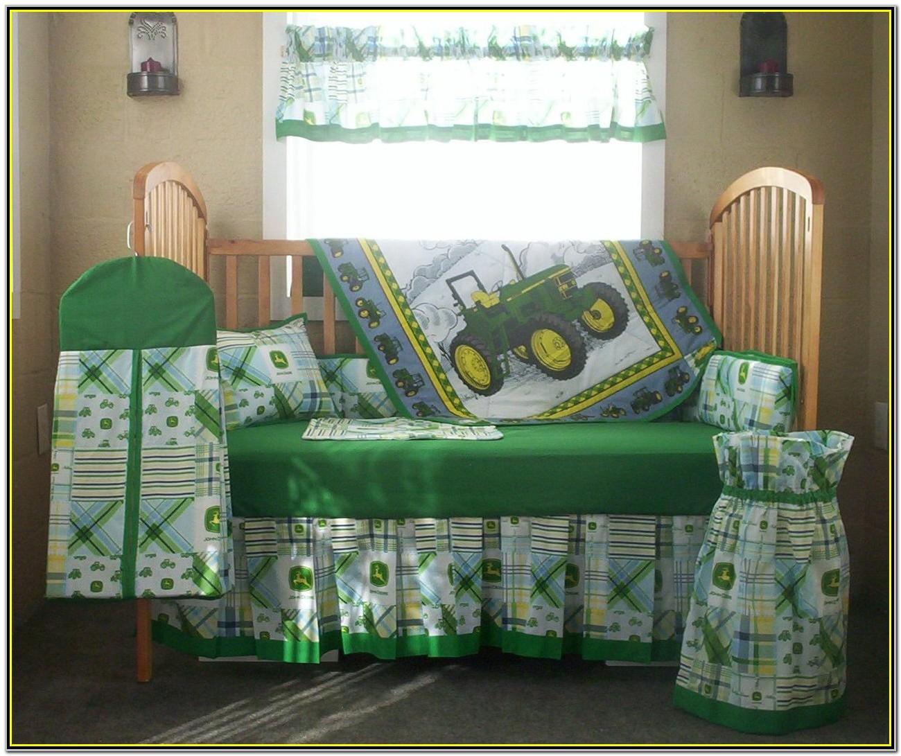 John Deere Tractor Crib Bedding Sets