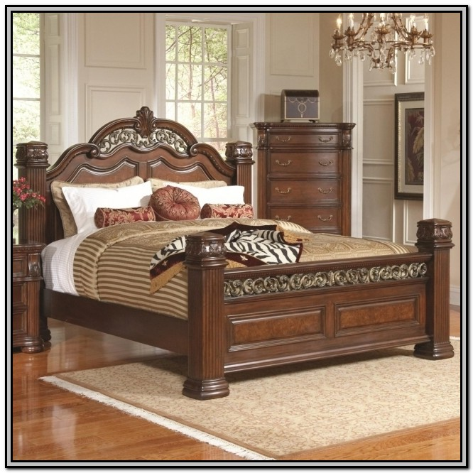 King Bed Frames With Headboard And Footboard
