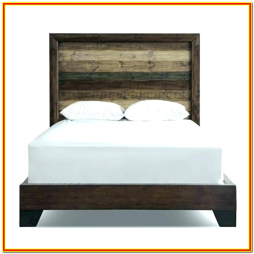 King Bed With Attached Nightstands