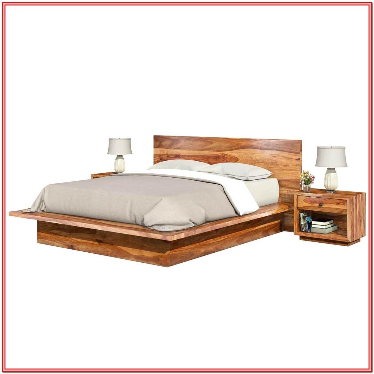 King Size Platform Bed Frame Dimensions