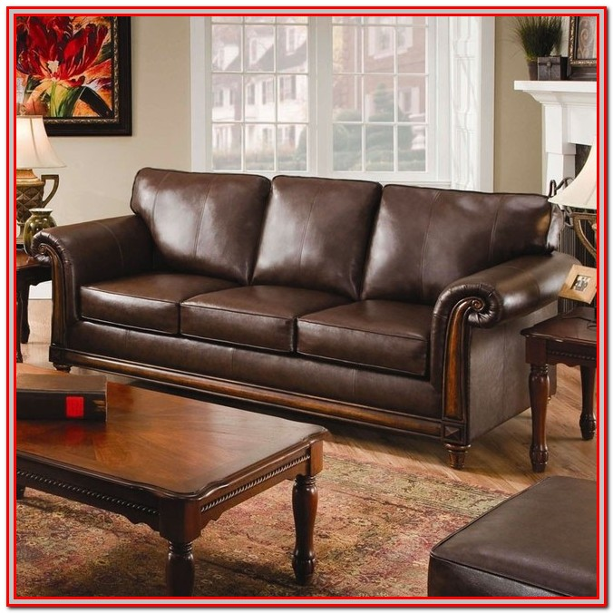 Leather Loveseat Hide A Bed