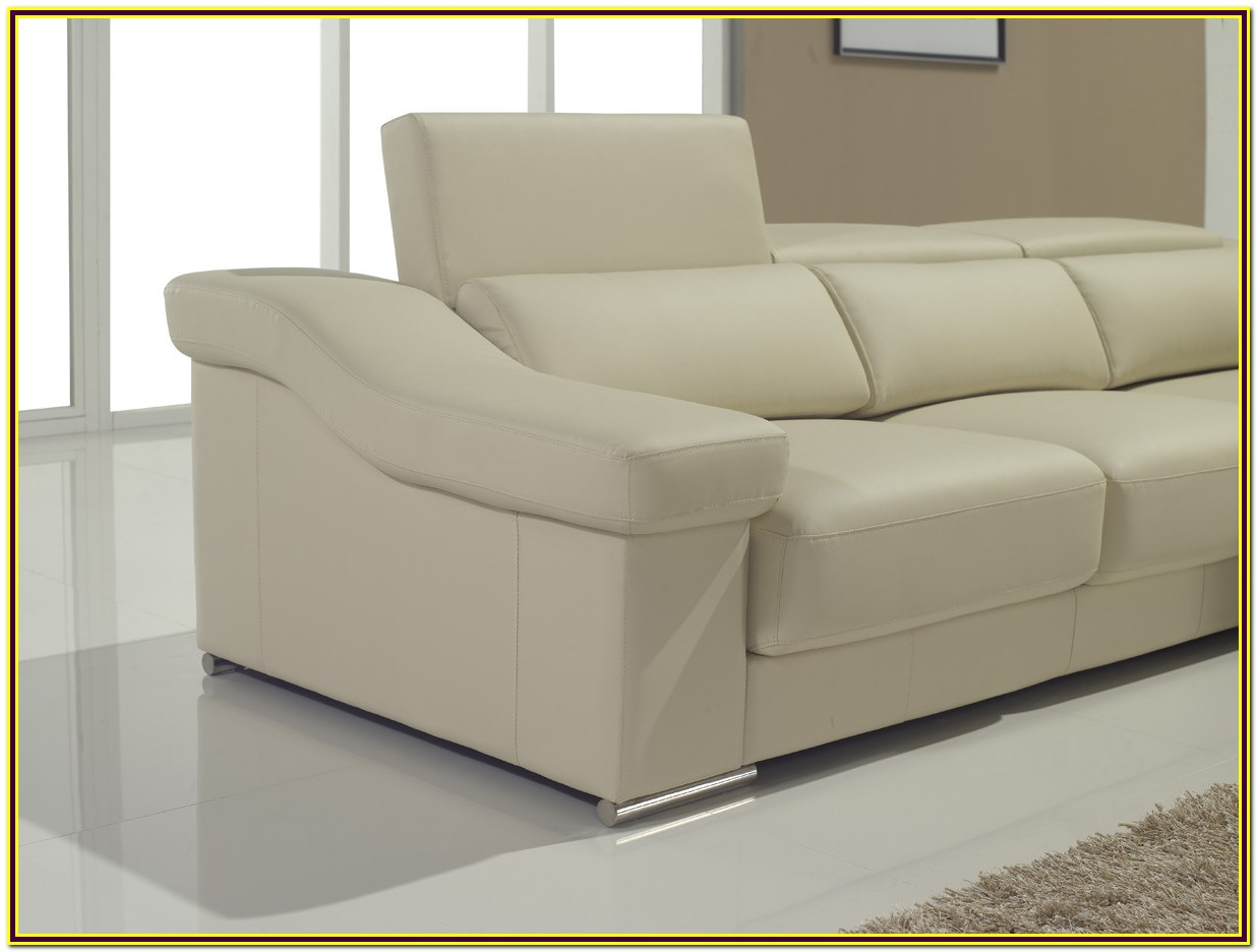 Leather Sectional Couch With Pull Out Bed
