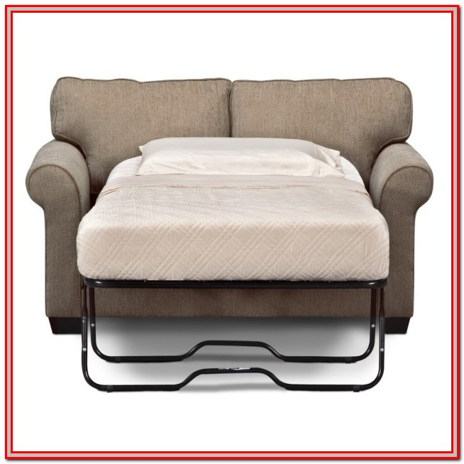 Loveseat Hide A Bed Mattress