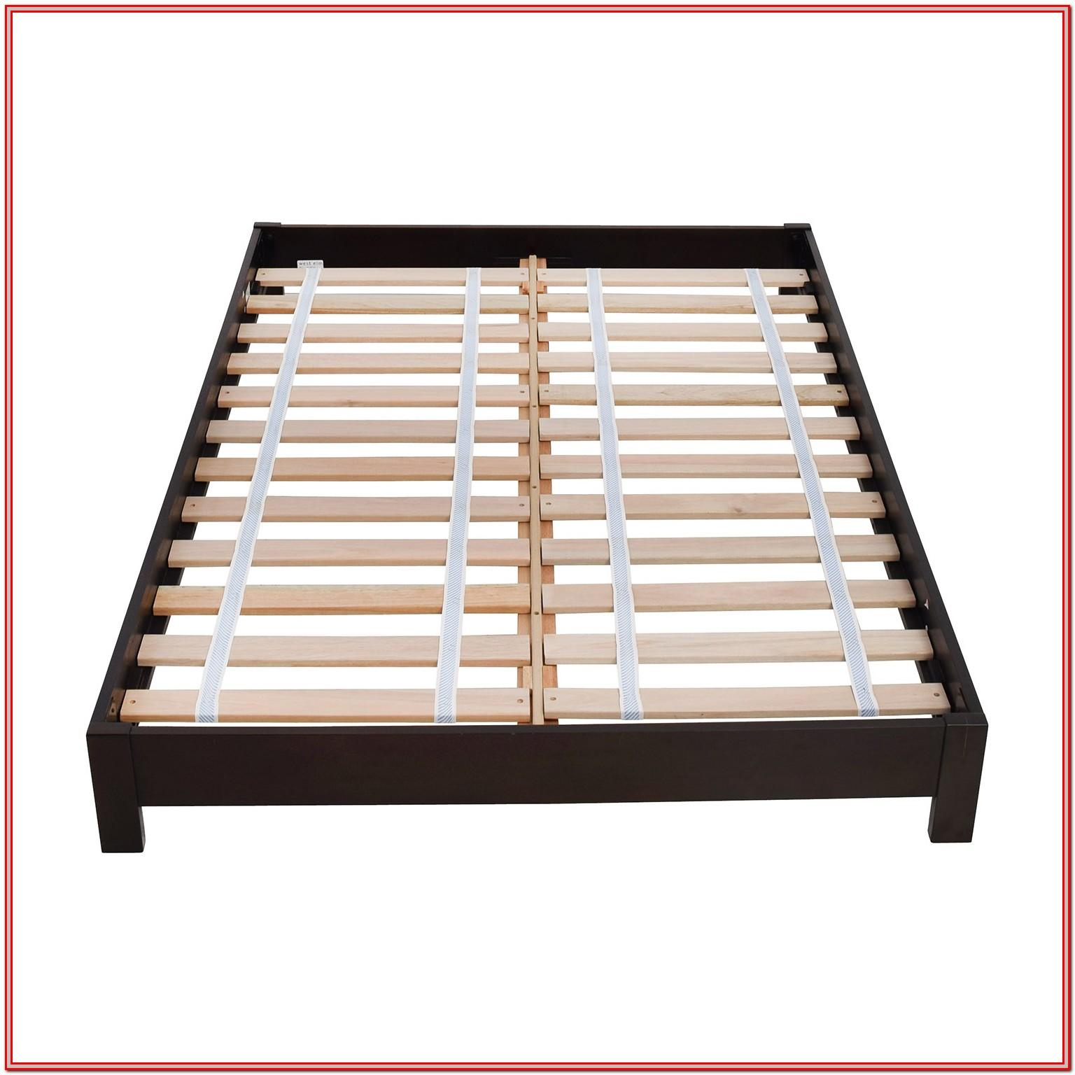 Low Platform Bed Frame Full
