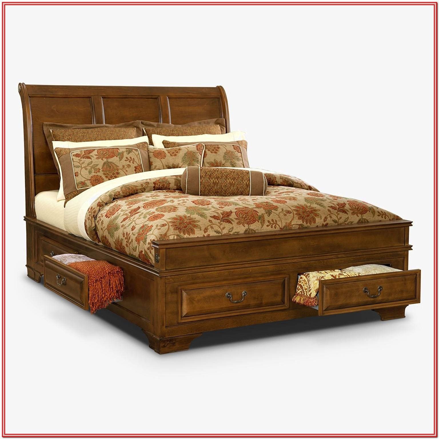 Low Platform Bed Frames Queen