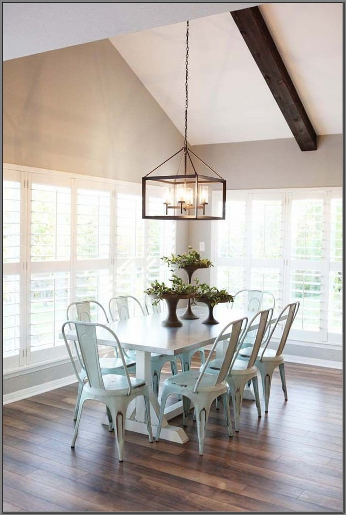 Magnolia Home Dining Room Lighting