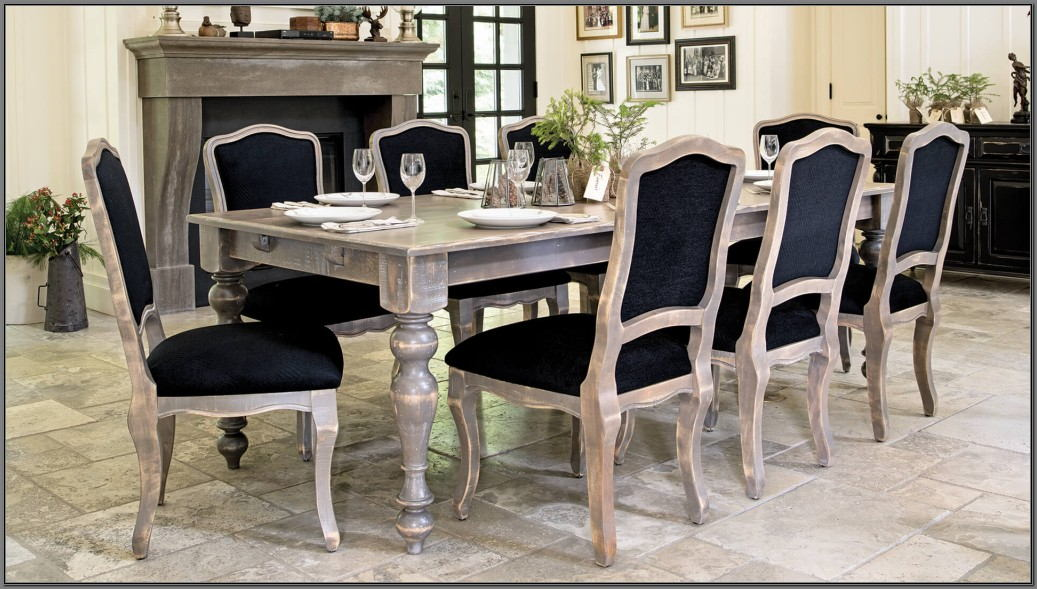 Mayflyn Dining Room Table Charcoal
