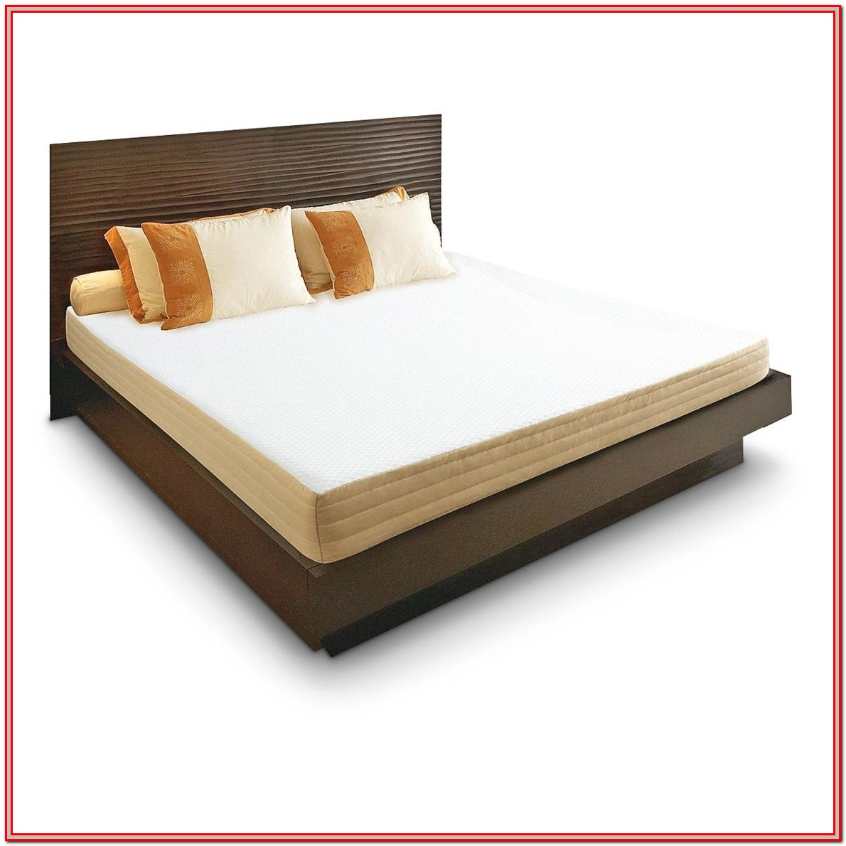 Memory Foam Mattress Bed Frame King