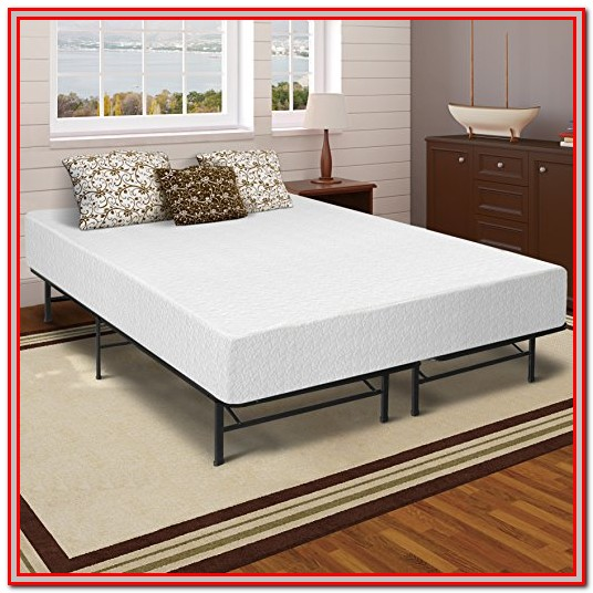 Memory Foam Mattress Bed Frame Set