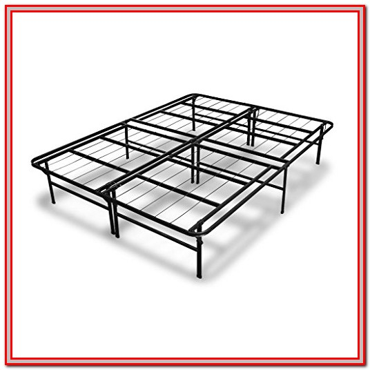 Memory Foam Mattress Metal Bed Frame