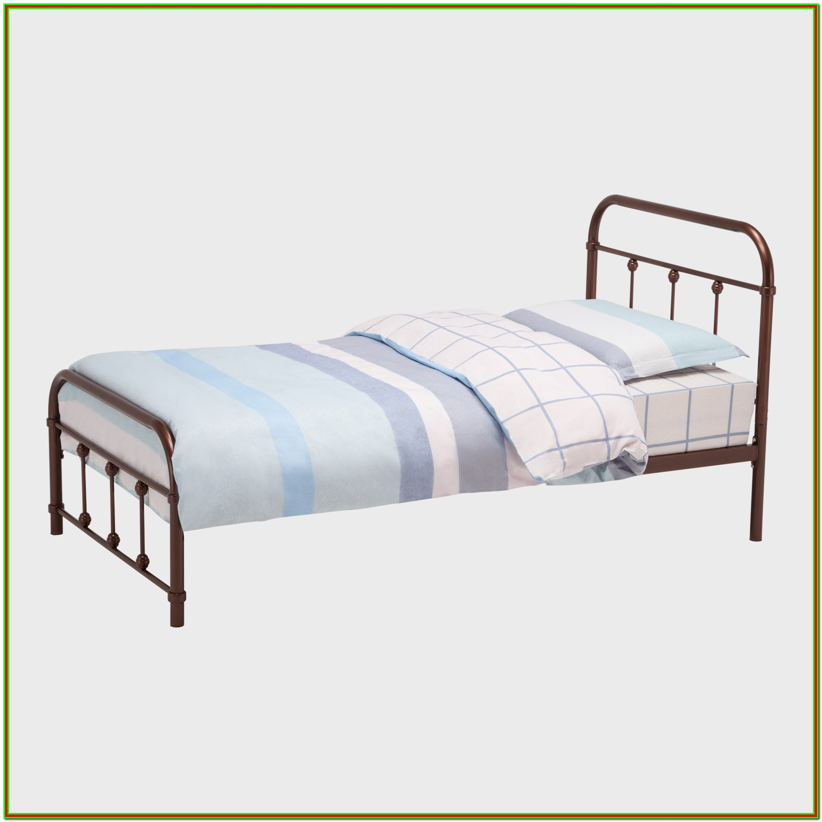 Metal Platform Bed Frame With Headboard