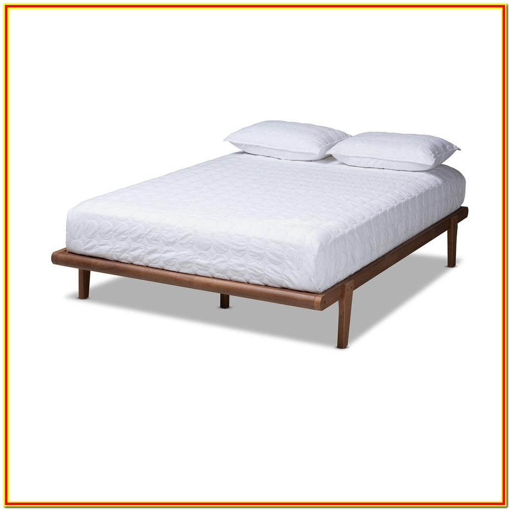Mid Century Modern Platform Bed Full