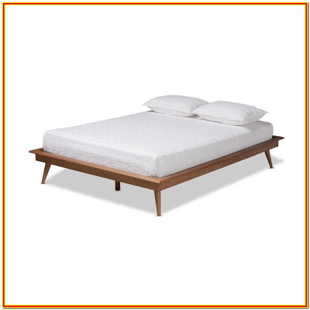 Mid Century Modern Platform Bed Queen