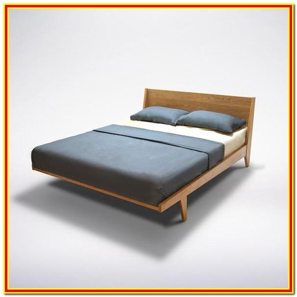 Mid Century Modern Platform Bed With Storage