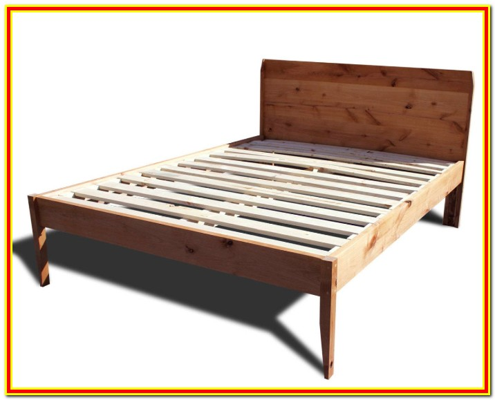 Mid Century Platform Bed Frame