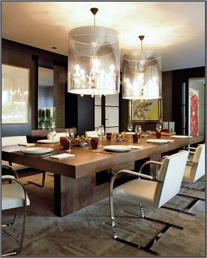 Modern Large Dining Room Table
