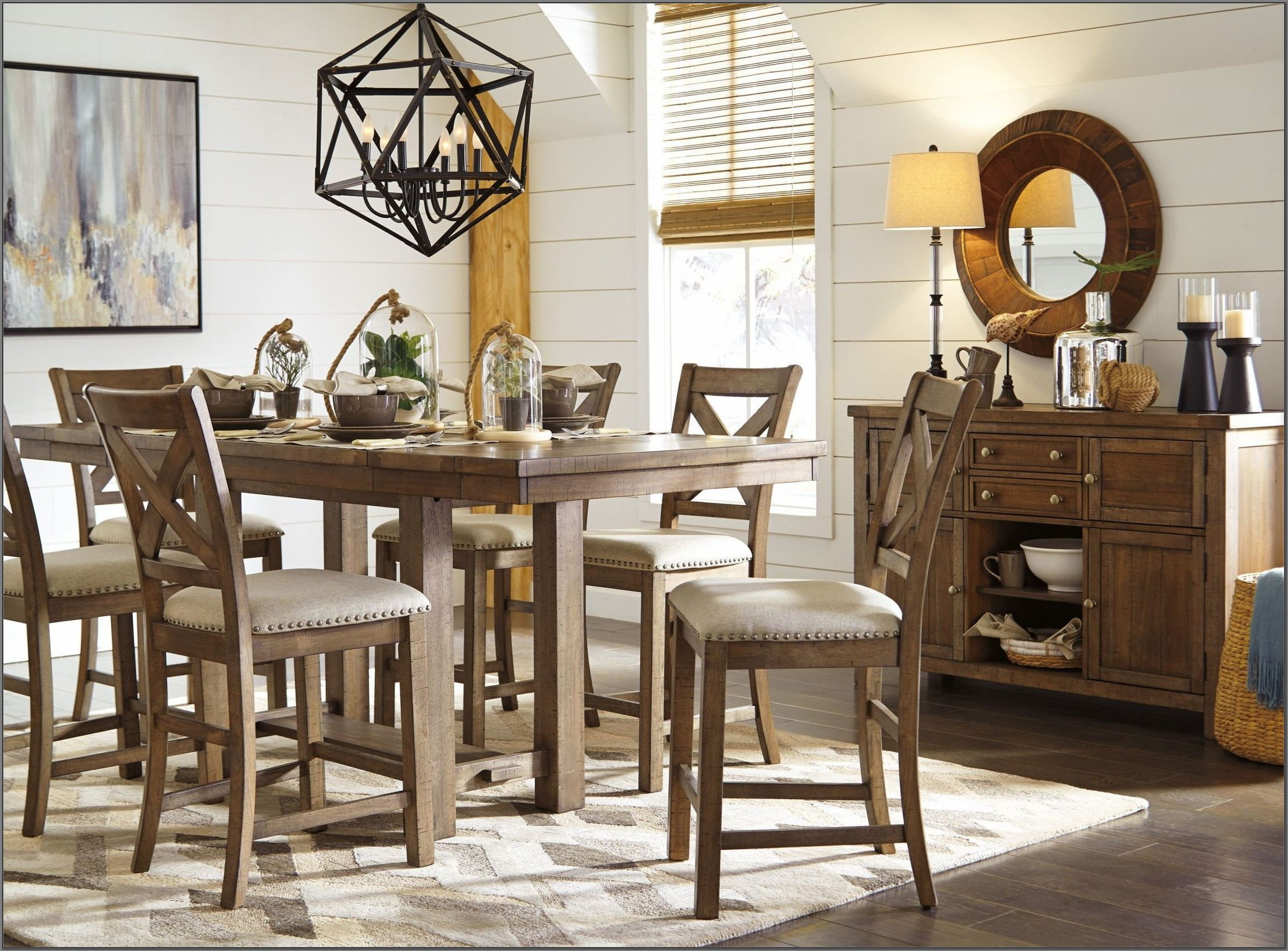 Moriville Counter Height Dining Room Set