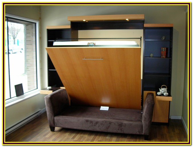 Murphy Bed With Stay Level Desk Kit