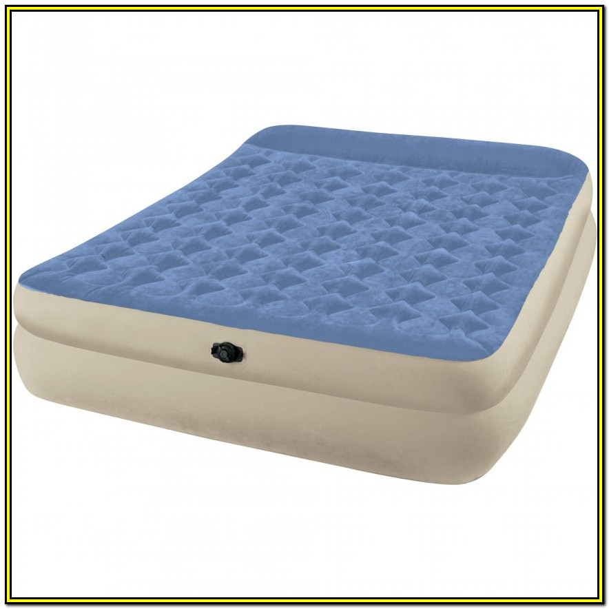 Northwest Territory Queen Size Instant Bed Air Mattress And Collapsible Frame