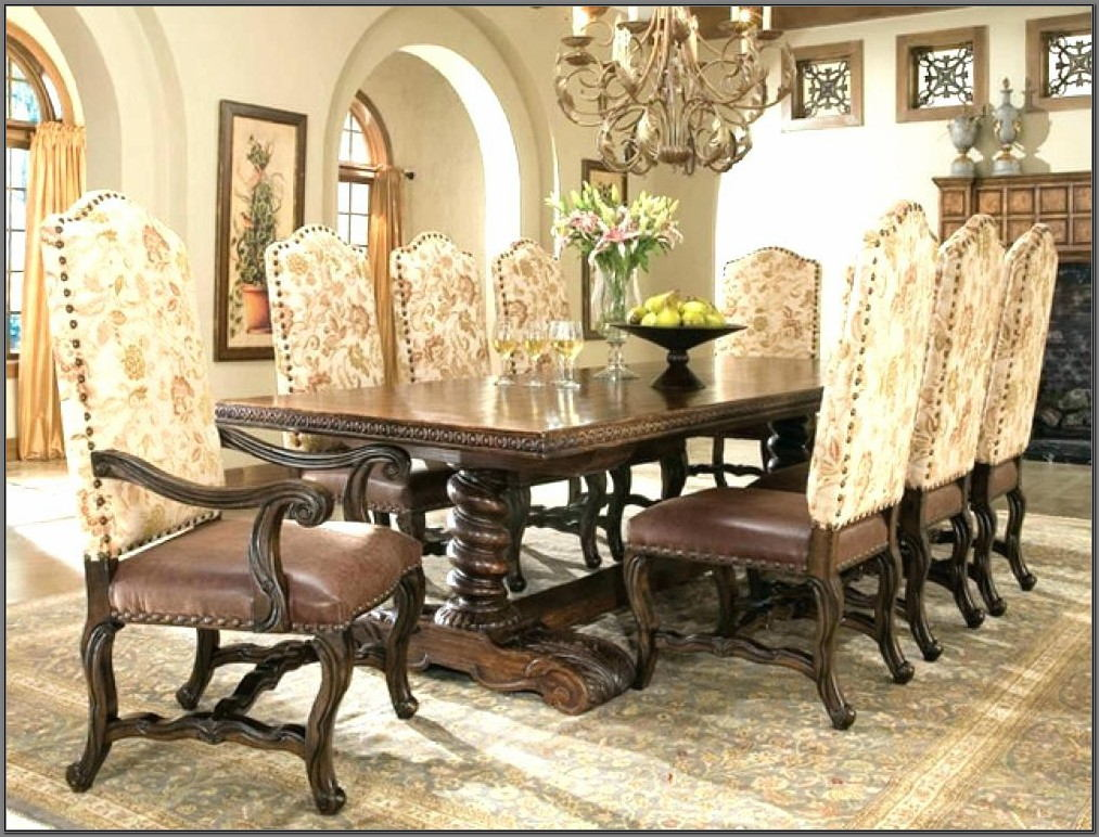 Old World Dining Room Table