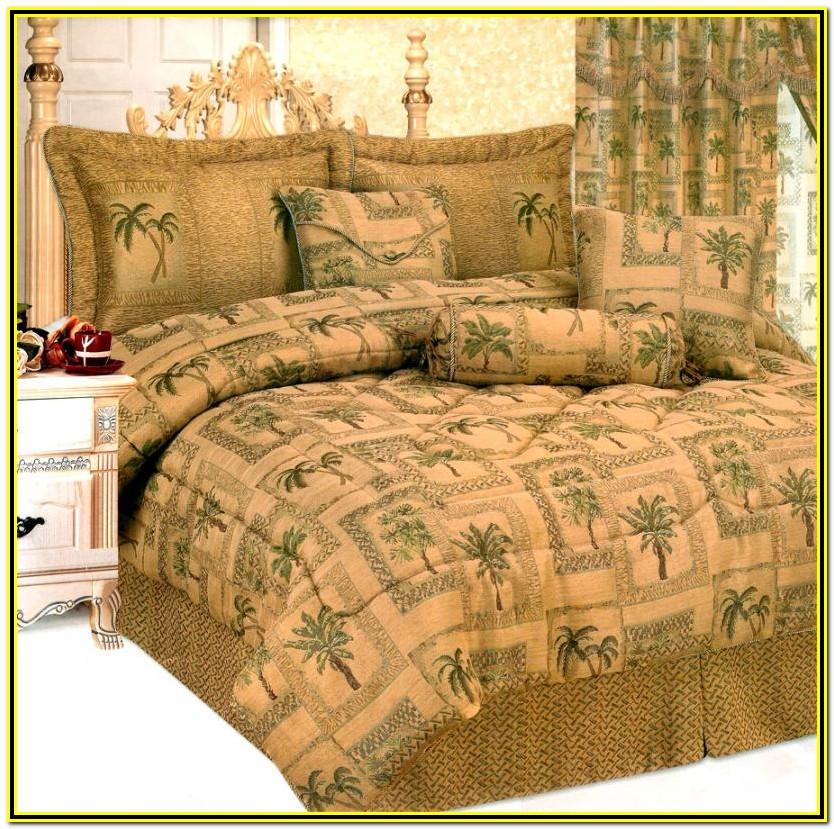 Palm Tree Comforter Sets Queen