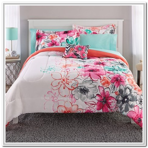 Pink And Gray Bedding Twin Xl