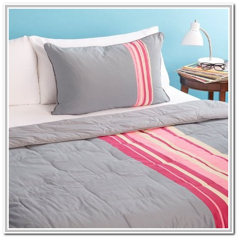 Pink And Grey Bedding Twin Xl