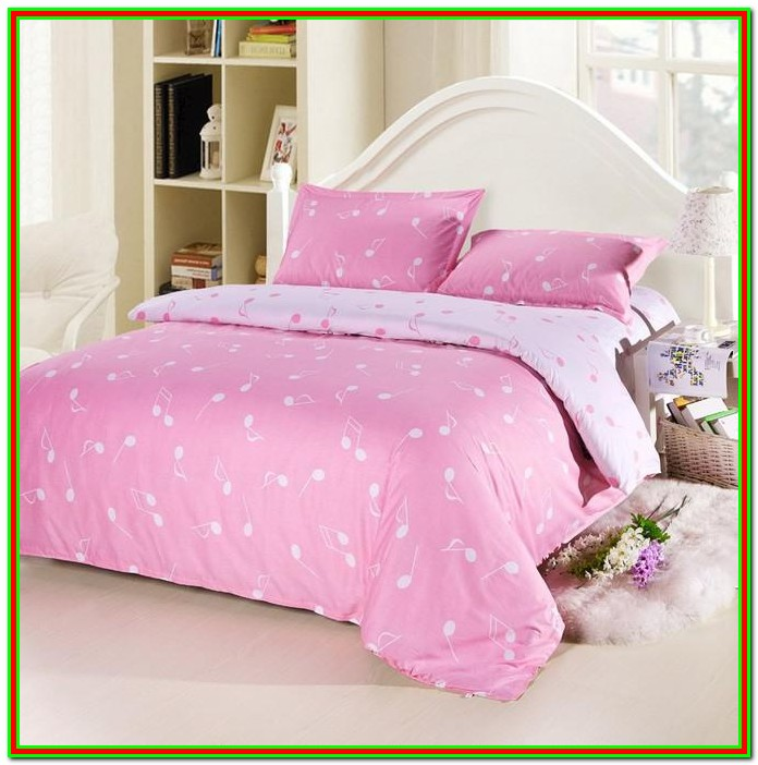 Pink Full Size Bed In A Bag
