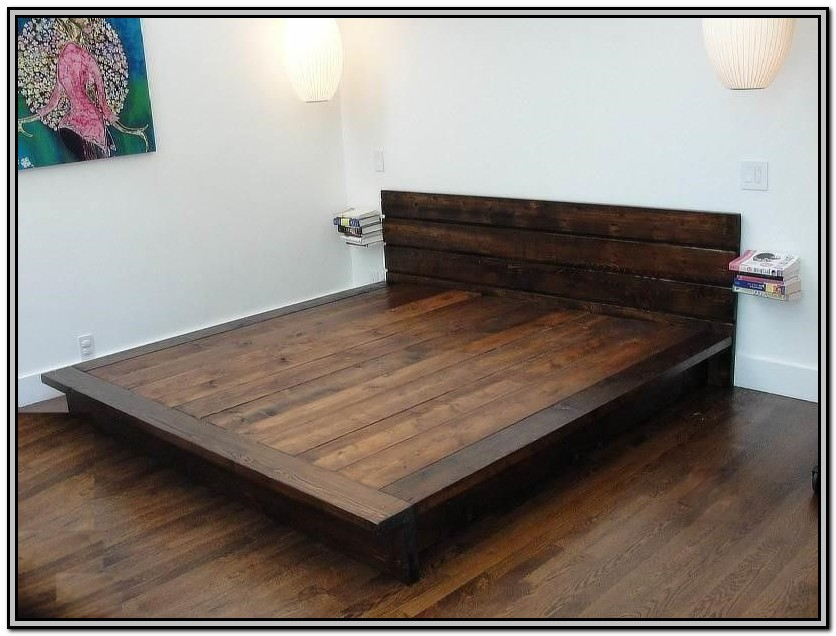Plans For Building A King Size Bed Frame With Drawers