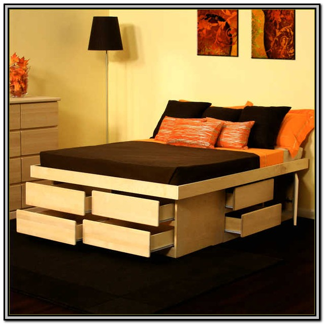 Plans For King Size Bed Frame