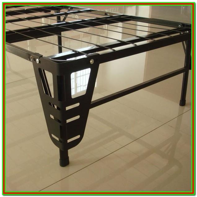 Platform Bed Frame With Headboard Brackets