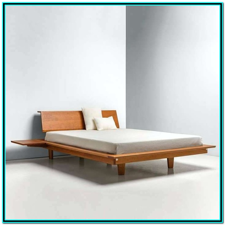 Platform Bed With Drawers On One Side